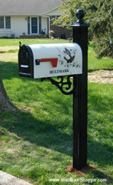 Bacova Mailbox and Post
