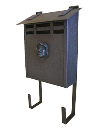 Copper Mission Style Mailboxes