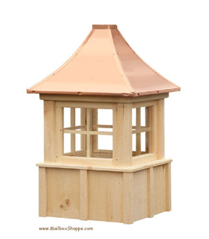 Board and Batten cupola with windows