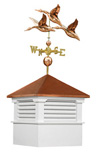 Weathervane and Cupola