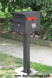 Locking Roadside Mailbox