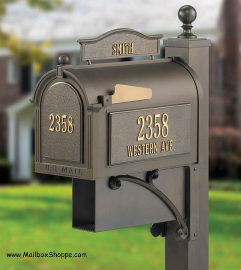 Whitehall Products Ultimate Mailbox and Post
