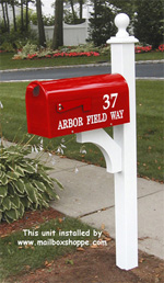 Newprot Mailbox and Newport Mailbox Post