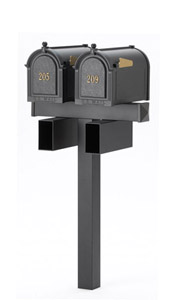 Double Mailbox Posts