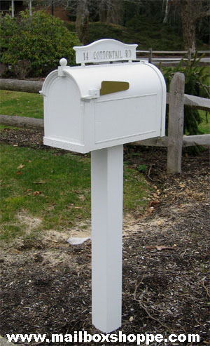 Whitehall Products Standard Mailbox and Post