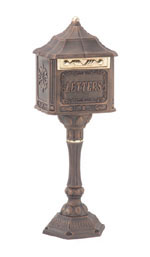 Regal Colonial Pedestal Mailbox