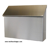 Plain Stainless Steel Mailbox